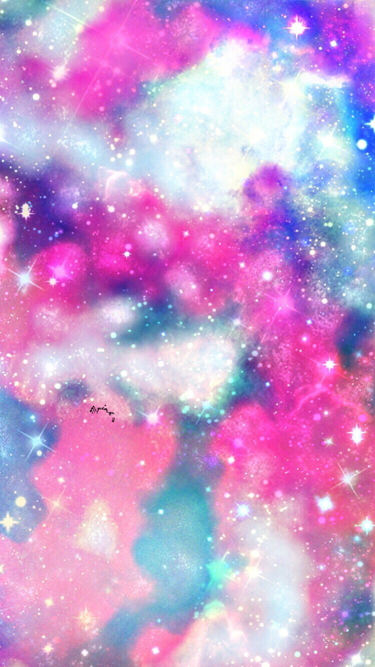 169 2017 Galaxy Wallpaper With Images Glittery Wallpaper