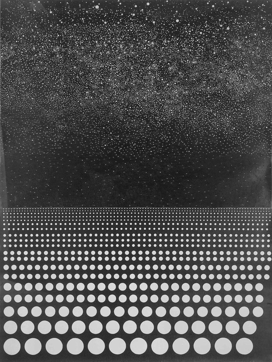PAUL NOBLE Sea 7B, 2007  Pencil on paper  106 3/8 x 79 1/8 inches (270.2 x 201 cm)