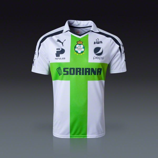 newest collection 816b2 82714 PUMA Santos Laguna Away Jersey 2013   Soccer Fan Gear ...