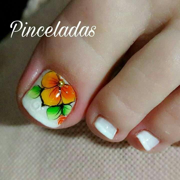 Pin de Melina Valencia en Diseño de uñas | Pinterest | Pedicura ...