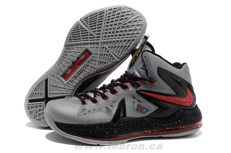 Nike LeBron X PS Elite Grey 579863-210