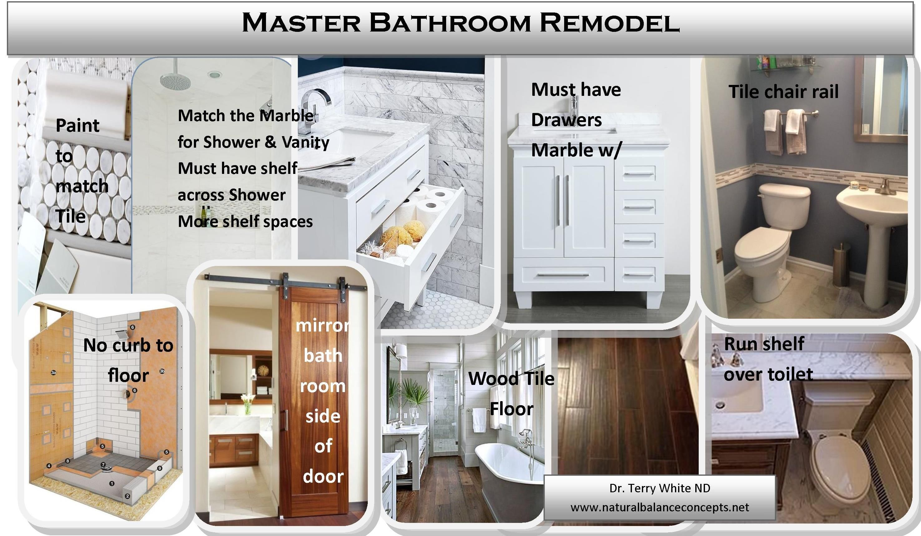 Master Bathroom Remodel - Gut it all and install new Mold resistant ...