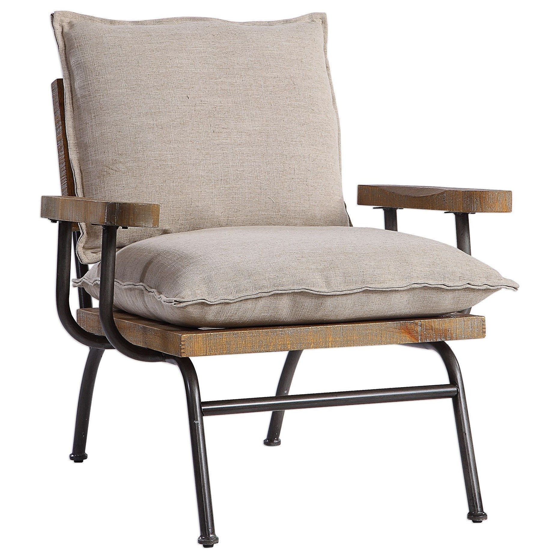 Accent Chairs Declan Industrial Accent