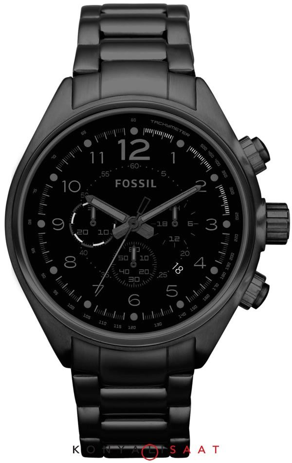 48bd15cc81e Mens Fossil Watch-Black ARV   135