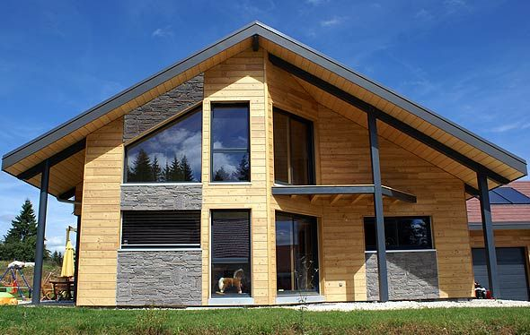 Célèbre Châlet en bois | maison | Pinterest | En bois, Bois et Maison bois WH24