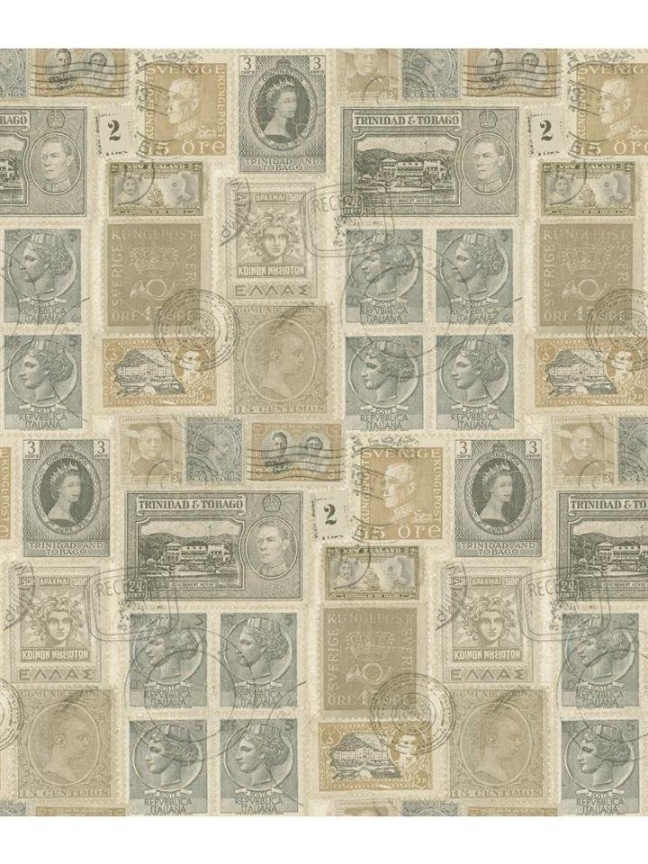 Vintage Postage Stamps Wallpaper Passport