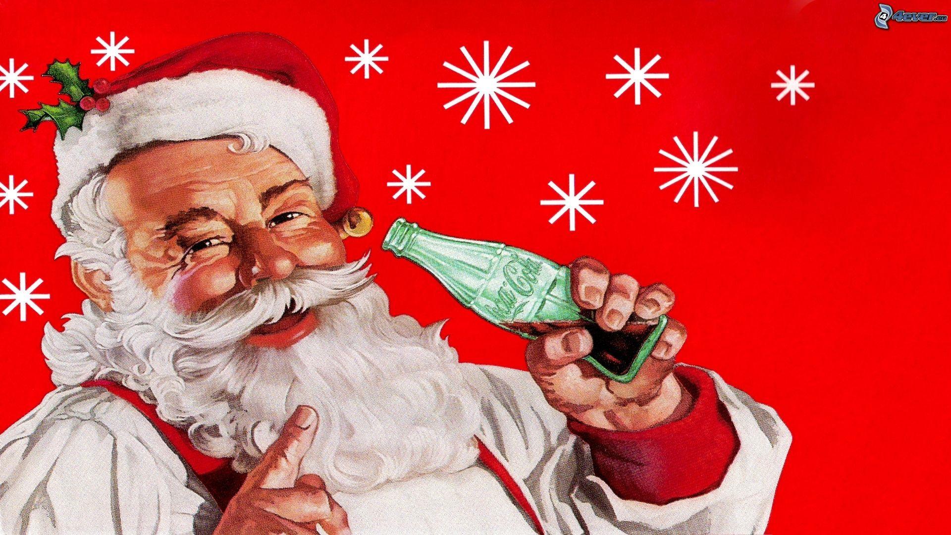 Babbo Natale Sfondi Natalizi Hd U2013 Coca Cola Sfondi E Foto
