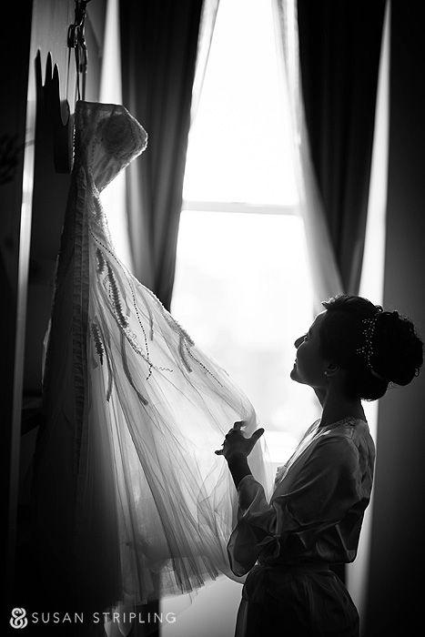 Brooklyn Botanical Garden wedding, W Hotel Union Square, Monique Lhuillier Candy dress