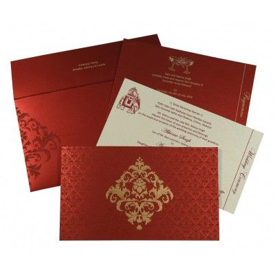 Indian Wedding Cards In 8257h 123weddingcards Wedding Cards Hindu Wedding Cards Printable Wedding Invitations Vintage