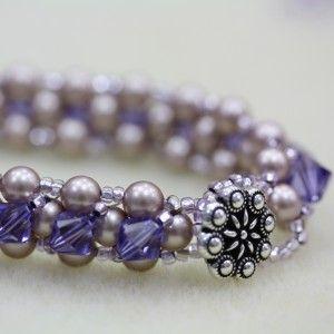 Right Angle Weave Bracelet Tutorial