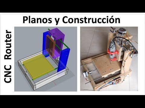 Planos y construcci n de cnc casera f cil de hacer 3 for Crear planos 3d online