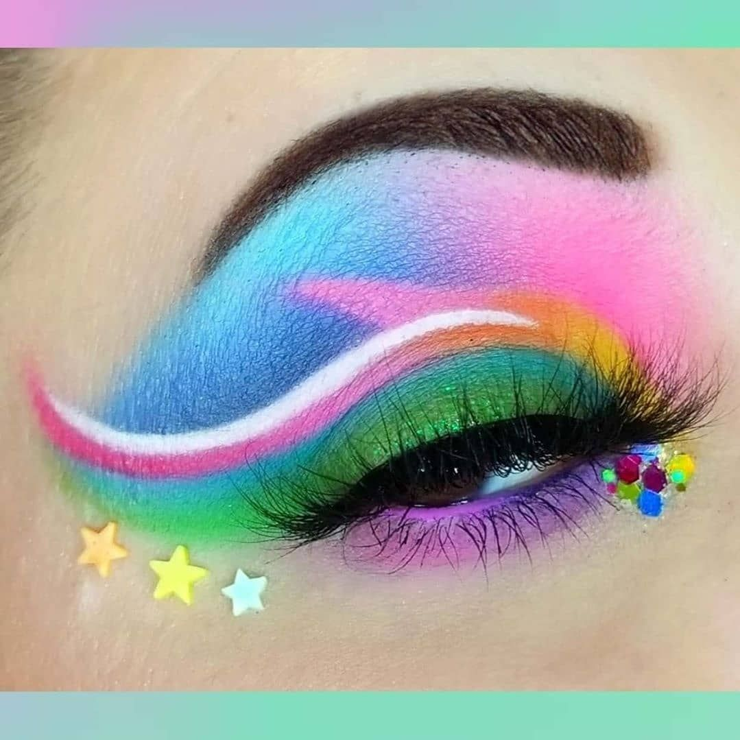 Spoiled Cosmetics On Instagram Name This Look Makeup With Tiffanyd Featuring The Glamlite Cake Palette Swipe For Videos Of In 2020 Cosmetics Instagram Palette