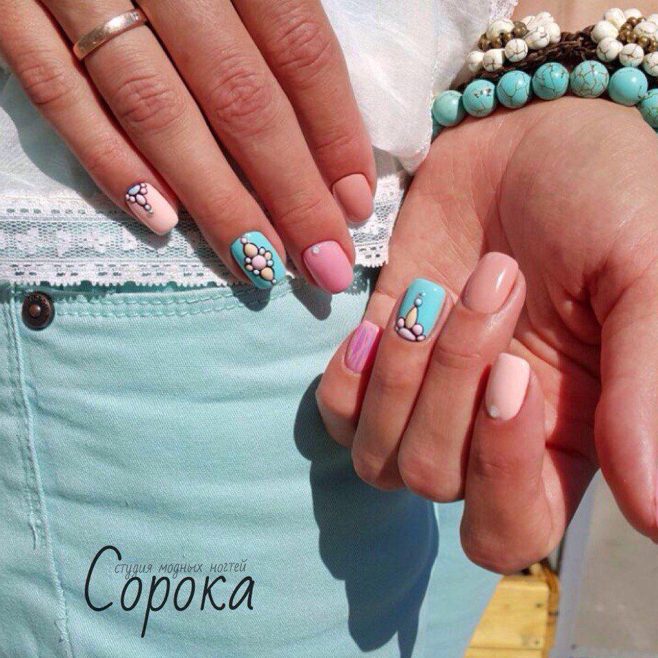 Pin de Astin en Sweet Bloom Nails | Pinterest | Diseños de uñas, Uña ...