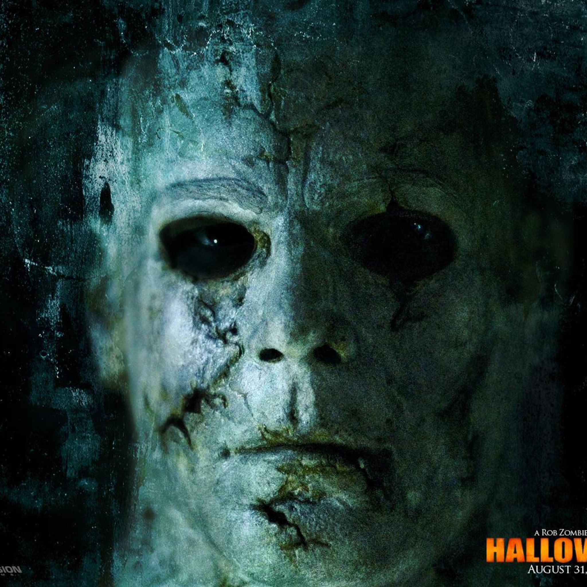 download wallpaper 2048x2048 halloween 2 michael myers face