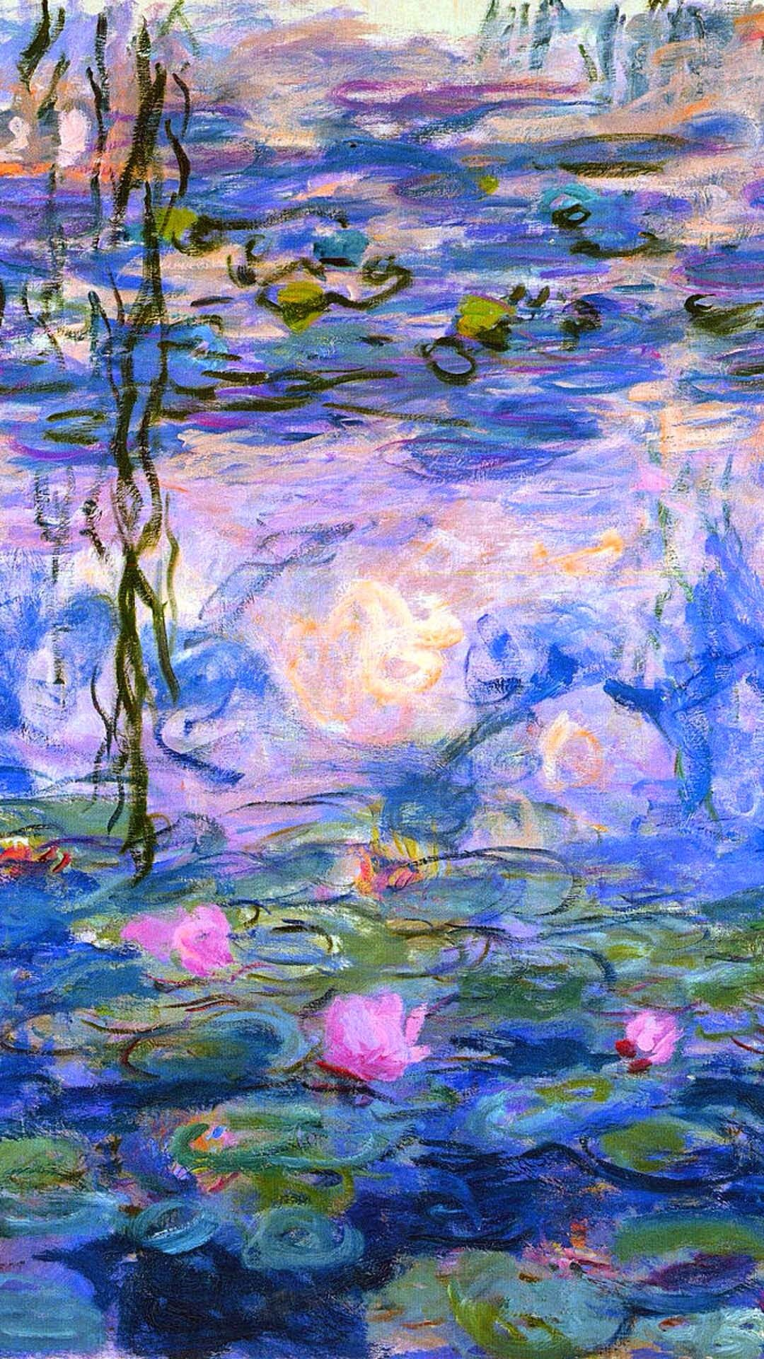 Pin By Flora Petrova On Drawing In 2019 Monet Water Lilies