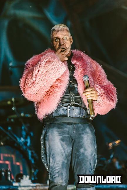 Till Lindemann - Rammstein Download Festival 2013 WHDT Tour 2013 #Rammstein…