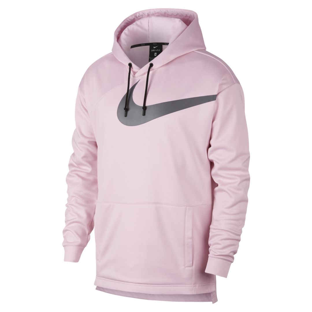 b8f9e5186 Nike Therma Men s Pullover Training Hoodie Size S (Pink Foam ...