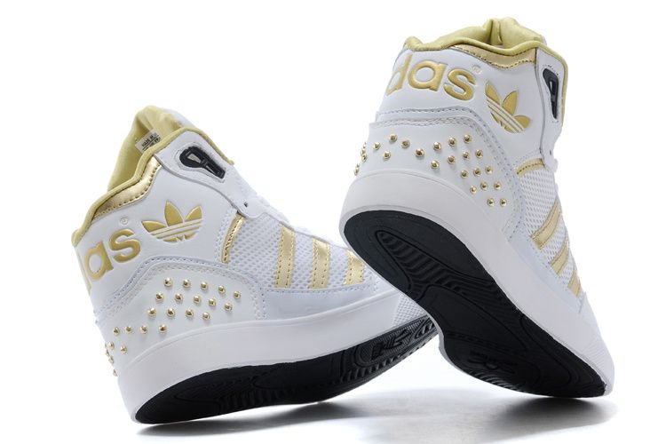 white high top adidas | 2014 New Adidas high top shoes for
