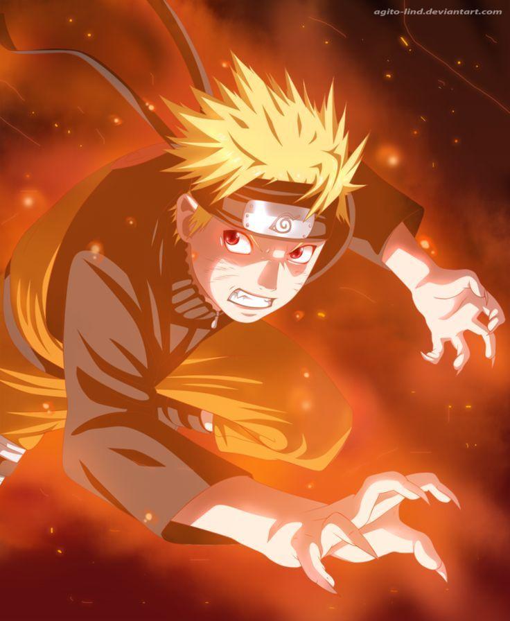 Kyuubi Naruto by aagito on DeviantArt