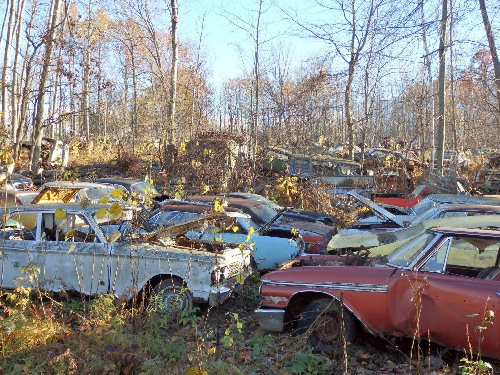 Last Call For Parts At Hillard S Auto Salvage In Michigan Barn