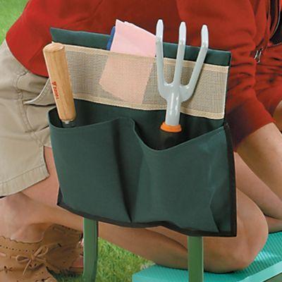 The Garden Kneeler Kneeling Pad cushions your knees while you garden. Flip up the Garden Kneeler Kneeling Pad over to transform the gardening cushion into a Garden Sitter.