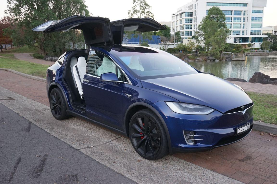 2017 Tesla Model X P100d Review Tesla Model X Pinterest Tesla