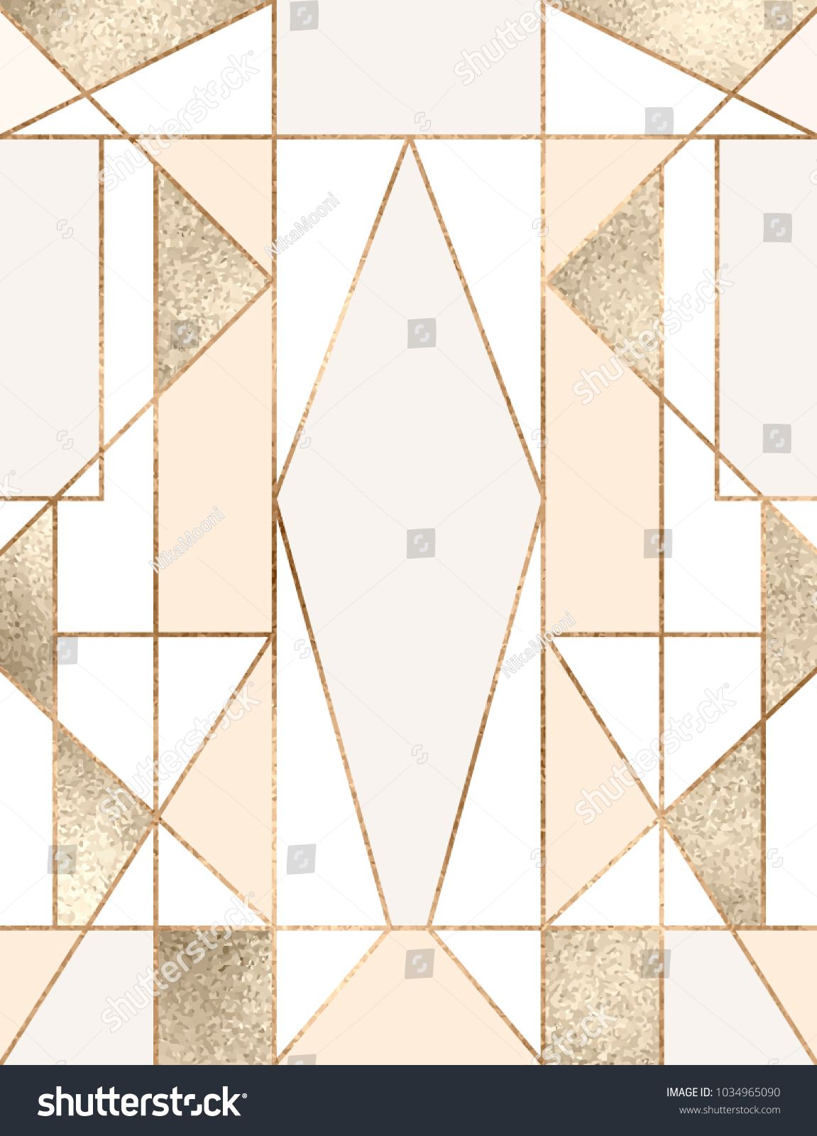 Art deco background with gold glitter geometric shapes, triangles, rectangles, lines, squares. #Ad , #spon, #gold#glitter#background#Art #goldglitterbackground