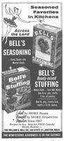 Bell's Stuffing 1959 Ad Picture