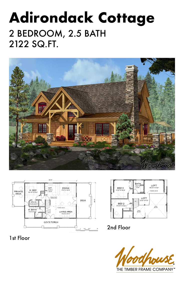 At 2 122 Square Feet This Classic Timber Frame Home Plan Is A Fan Favorite Timber Stone Log Siding Timber Frame Home Plans House Plans Timber Frame Homes