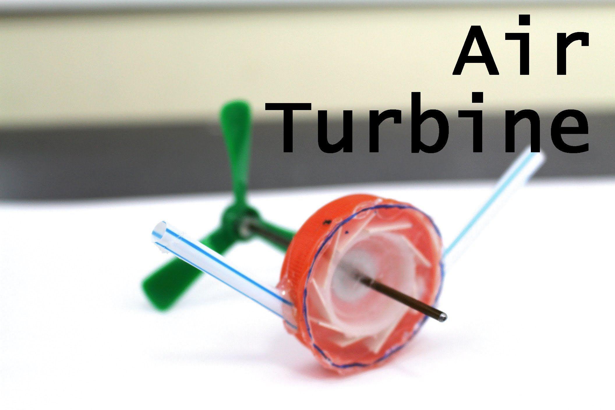 How to Make a Mini Compressed Air Turbine Plane crafts