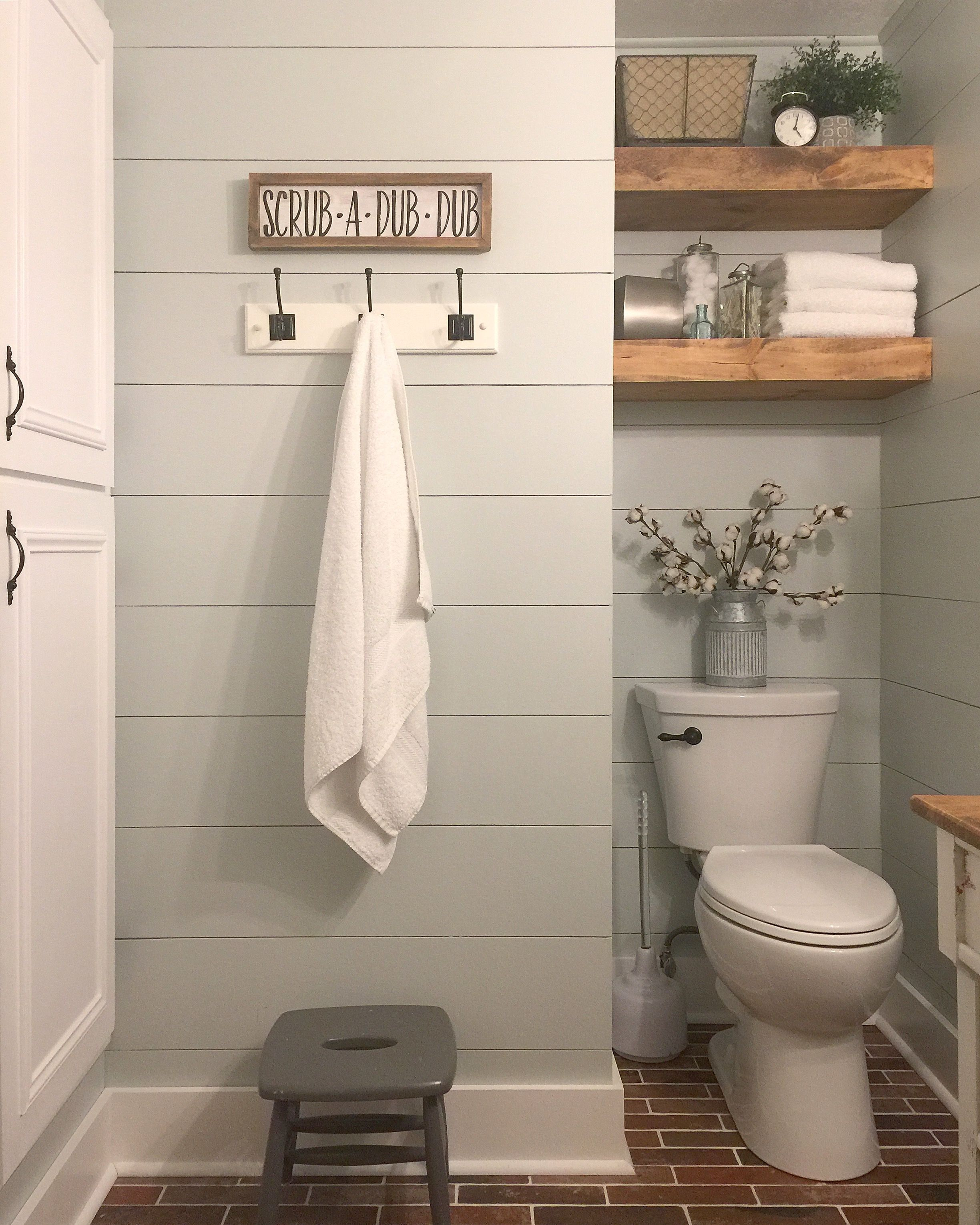 Farmhouse Bathroom Small Ideas Decor Tub Tile