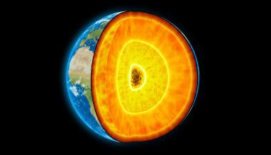 Okyanusa Dokulen Lav Earths Rotation Planets Earth