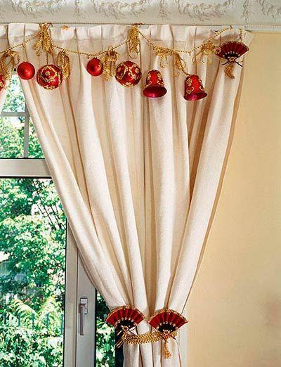 Resultado de imagen de decorar ventanas para navidad Ideas bonitas