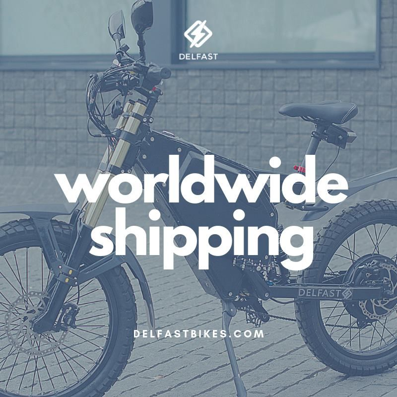Just Reminding You We Ship Worldwide Delfast Delfastbikes Delfastprime Worldwidedelivery Quickcharging Tech E Fast Bikes Bike Electric Transportation