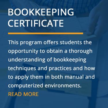Bookkeeping Certification Program (Online & In-Class)   Goal of 2018 ...