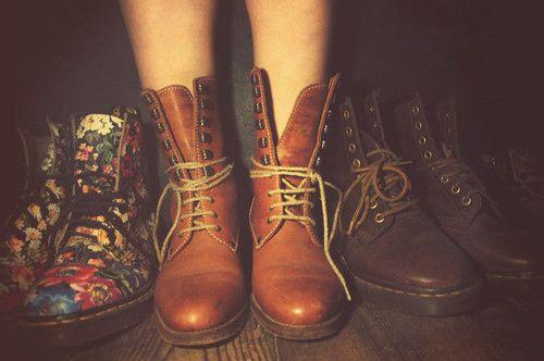 Combat boots, want a pair!