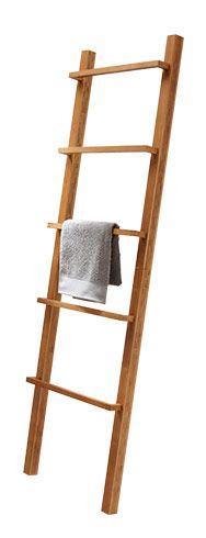 échelle Porte Serviette 5 Barres Bambou Form Robinson Salle De