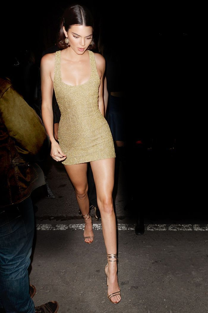 0817d99bbef Kendall Jenner s holiday party outfit idea is everything