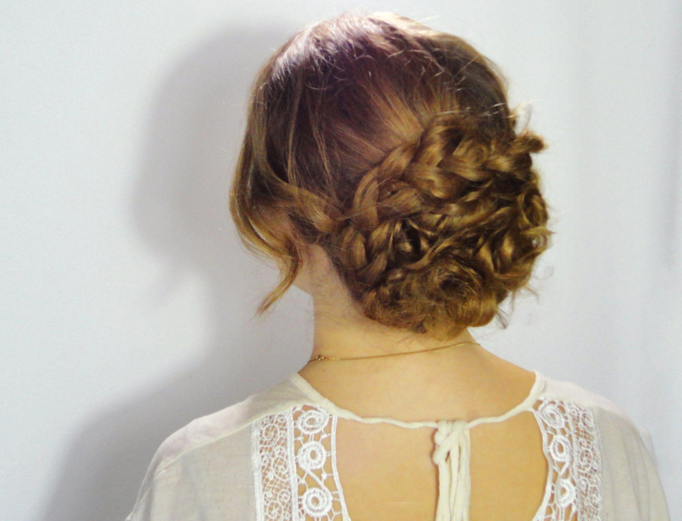 Chignon Coiffé Décoiffé Facile intérieur coiffure chignon bohème | projets à essayer | pinterest | coiffure