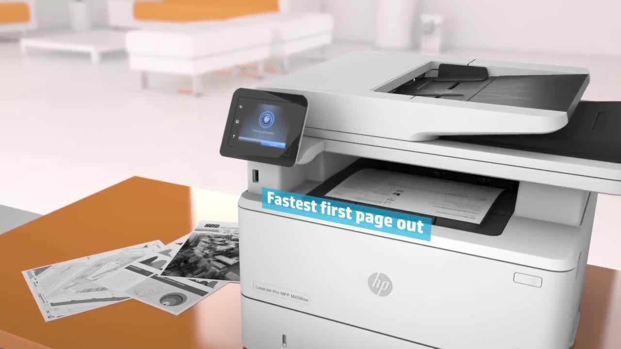 Hp Color Laserjet Pro M454dn Printer Color Laser Working From Home Work Smarter Color
