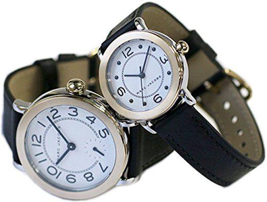 [マークバイマークジェイコブス] MARC BY MARC JACOBS 腕時計 ライリー RILEY クオーツ MJ1514/1516 ホワイト/ブラック ペアウォッチ [並行輸入品]