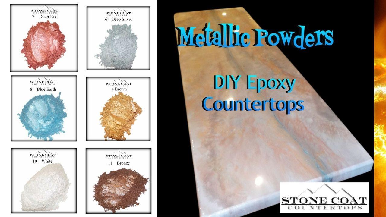 Diy Epoxy Stone Coat Countertops Metallic Countertops Diy