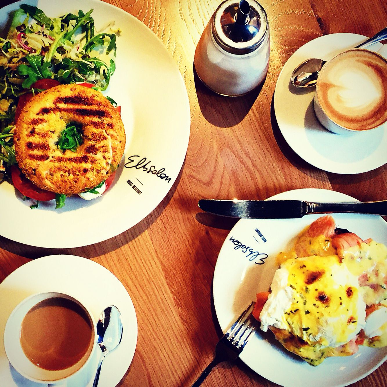 Breakfast And Caf ELBSALON Dresden Germany