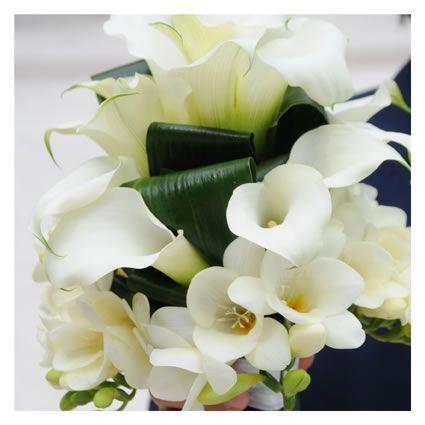 bouquet da sposa -calle bianche