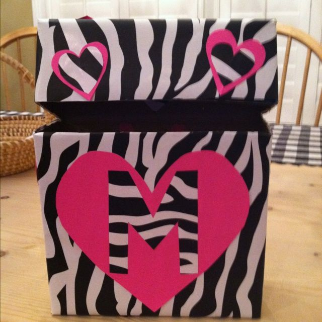 homemade valentines boxes bing images - Homemade Valentine Box Ideas