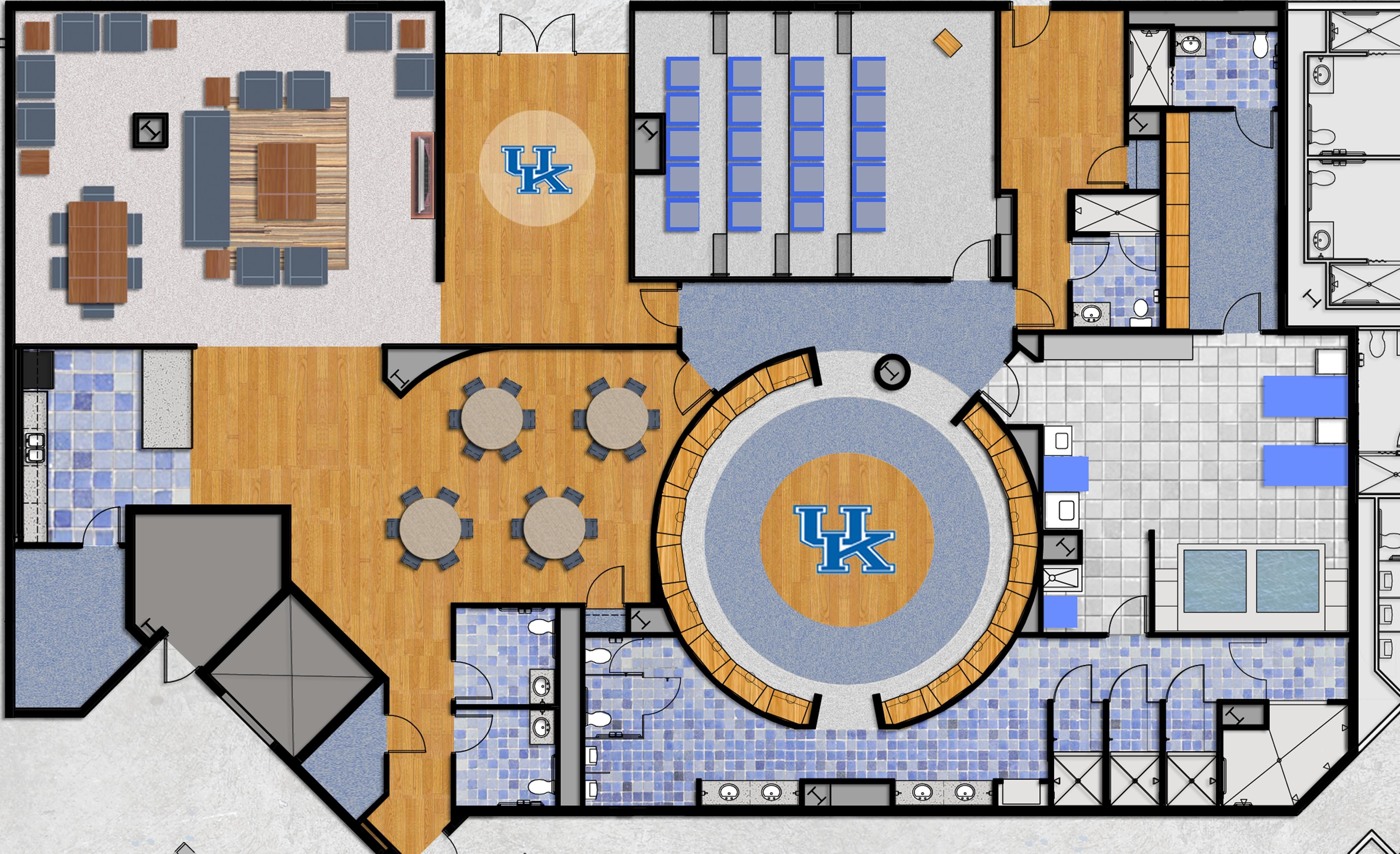 staff locker room dimensions - Google Search | Commercial II ...