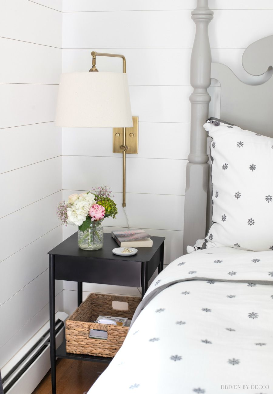 Favorite Narrow Nightstands For Small Space Bedrooms Small