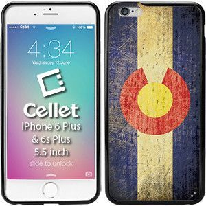 TPU / PC Proguard Case with Vintage Colorado Flag for iPhone 6 Plus & 6s Plus