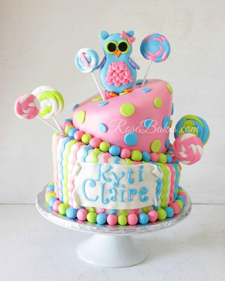Owl Lollipops Party Cake Smash Cake Cookies Cake Pops Cake
