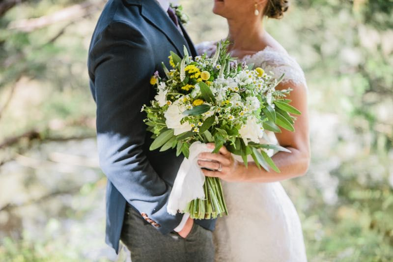 Botanical bridal bouquet #Cedarwoodweddings